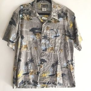 Columbia Men's Shirt Size Small Hawaiian